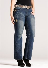 Jeans bootcut, RAINBOW, blue stone used