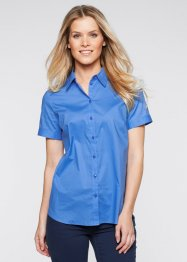 Blouse, bpc bonprix collection, hemelsblauw