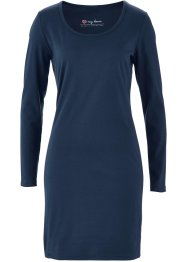 Jurk, bpc bonprix collection, donkerblauw