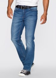 Stretchjeans classic fit straight, John Baner JEANSWEAR, blauw