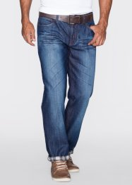 Thermojeans straight, John Baner JEANSWEAR, donkerblauw