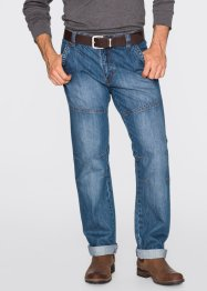 Jeans regular fit straight, John Baner JEANSWEAR, blauw (dirty)