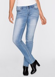 Stretchjeans STRAIGHT, John Baner JEANSWEAR, middenblauw