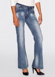 Jeans bootcut, RAINBOW, blue stone
