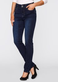 Push-upstretchjeans «smal», bpc bonprix collection, dark denim