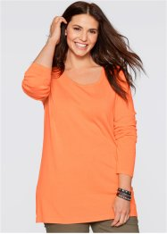 Longpullover, bpc bonprix collection, nectarine