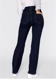 Push-upjeans Powerstretch bootcut, bpc bonprix collection, dark denim