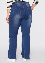 Push-upjeans Powerstretch bootcut, bpc bonprix collection, blue stone used