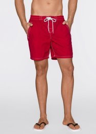Strandshort, bpc bonprix collection, rood