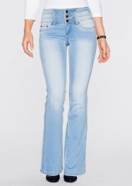 Corrigerende stretchjeans bootcut, John Baner JEANSWEAR, lichtblauw