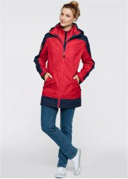 3in1-outdoorjas, bpc bonprix collection, rood/donkerblauw