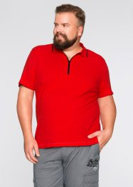 Poloshirt, bpc bonprix collection, aardbeirood