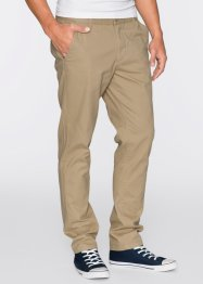 Chino slim fit straight, RAINBOW, rood