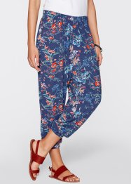 Broek, bpc bonprix collection, indigo gedessineerd