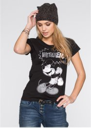 Shirt, Disney, zwart