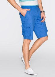 Cargobermuda loose fit, bpc selection, gletsjerblauw