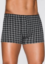 Boxershort (set van 3), bpc bonprix collection, grijs gemêleerd gedessineerd