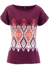 Shirt, bpc bonprix collection, bessen met print