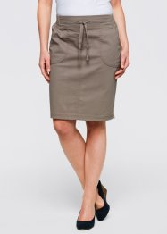 Stretchrok, bpc bonprix collection, taupe