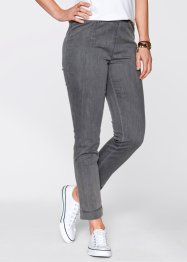 Jeanslegging «smal», bpc bonprix collection, grey denim
