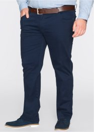 Stretchbroek slim fit straight, bpc bonprix collection, donkerblauw