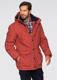 Outdoorjas, bpc selection, rood/donkerblauw