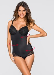 Corrigerende body, bpc bonprix collection, zwart