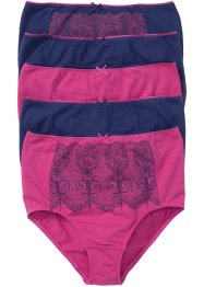 Tailleslip (set van 5), bpc selection, middenfuchsia/blauw