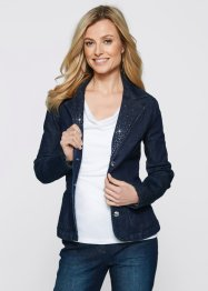 Jeansblazer, bpc selection, darkblue stone