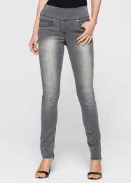 Megastretchjeans, bpc selection, grey denim