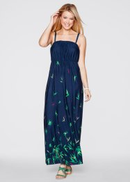 Maxi-jurk, bpc bonprix collection, donkerblauw gedessineerd