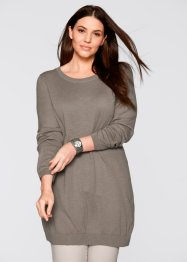 Oversized trui, bpc bonprix collection, taupe