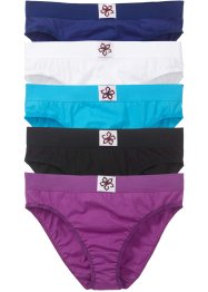 Slip (set van 5), bpc bonprix collection, multicolor