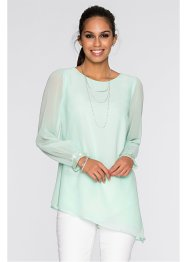 Blouse, BODYFLIRT, pastelmint