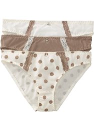 Slip, bpc bonprix collection, gedessineerd+champagnekleur+taupe