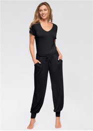 Jumpsuit, bpc bonprix collection, zwart