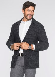 Blazer, bpc bonprix collection, donkergrijs gemêleerd
