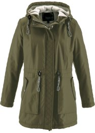 Parka, bpc bonprix collection, olijfgroen