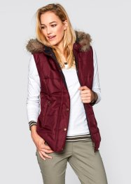 Bodywarmer, bpc bonprix collection, ahornrood