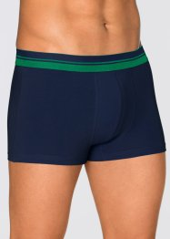 Boxershort (set van 3), bpc bonprix collection, donkerblauw/groen