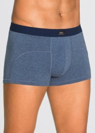 Boxershort (set van 3), bpc bonprix collection, blauw gemêleerd