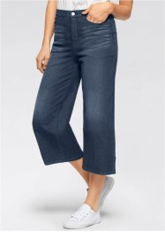 Stretchjeans EXTRA WIDE, John Baner JEANSWEAR, donkerblauw