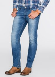 Stretchjeans slim fit, John Baner JEANSWEAR, blauw