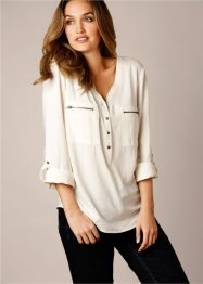 Blouse, bpc bonprix collection, wolwit