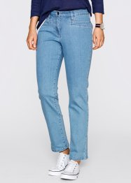 Corrigerende stretchjeans, bpc bonprix collection, medium blue bleached