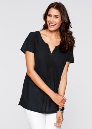 Blouse, bpc bonprix collection, zwart