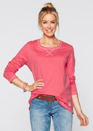 Sweatshirt, bpc bonprix collection, lichtpink gemêleerd