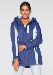 3in1-outdoorjack, bpc bonprix collection, middernachtblauw/lichtblauw