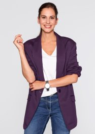 Longblazer, bpc bonprix collection, prune