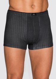 Boxershort (set van 3), bpc bonprix collection, gedessineerd/grijs